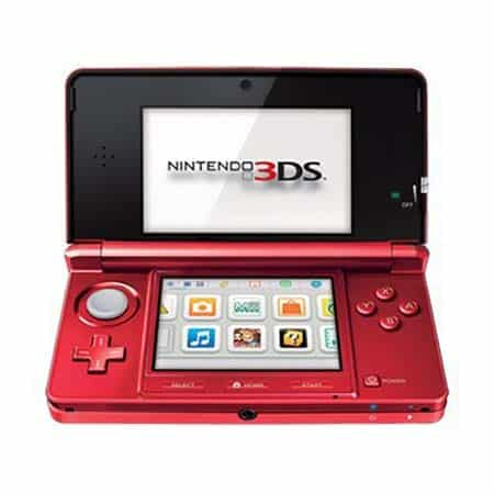 Nintendo 3DS - Flame Red