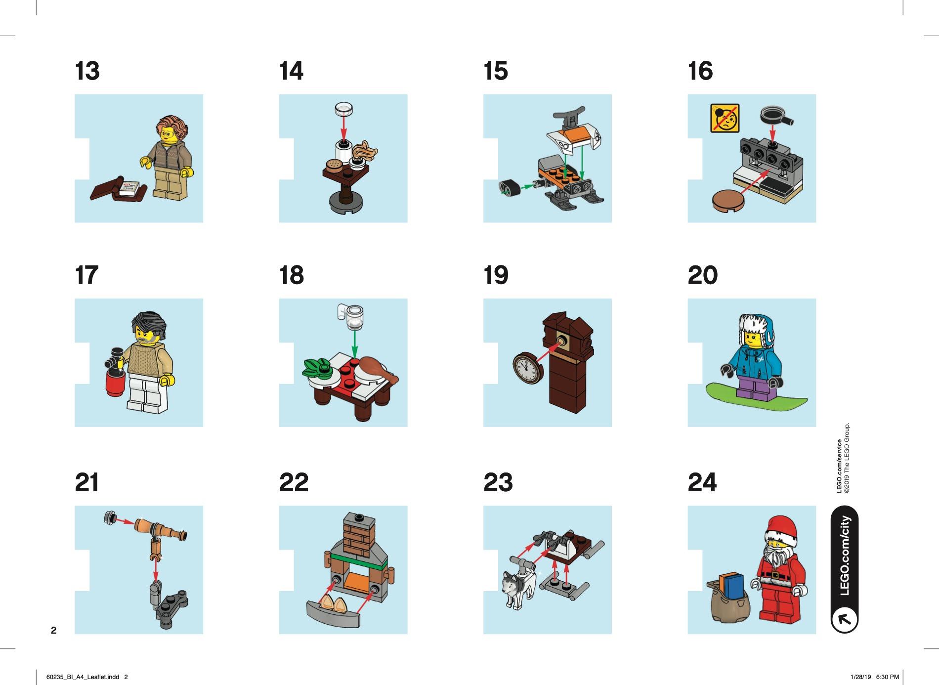 City - City Advent Calendar [Lego 60235]