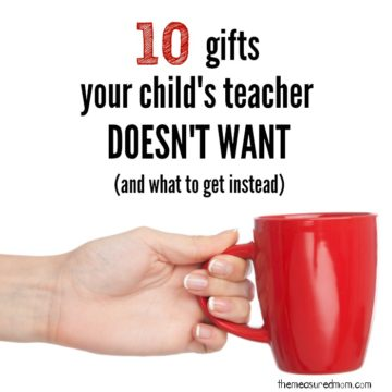 Looking for gifts for teachers? Whether you need need teacher appreciation gift ideas, teacher gifts for the end of the year, or teacher gift ideas for Christmas - this post has some great ideas!