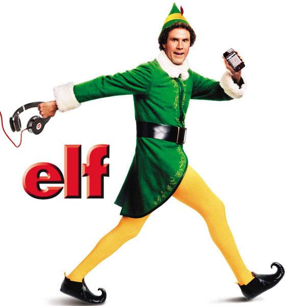Elf (2003); Starring: Will Farrell,  Zooey Deschanel, James Caan, Bob Newhart, & Mary Steenburgen