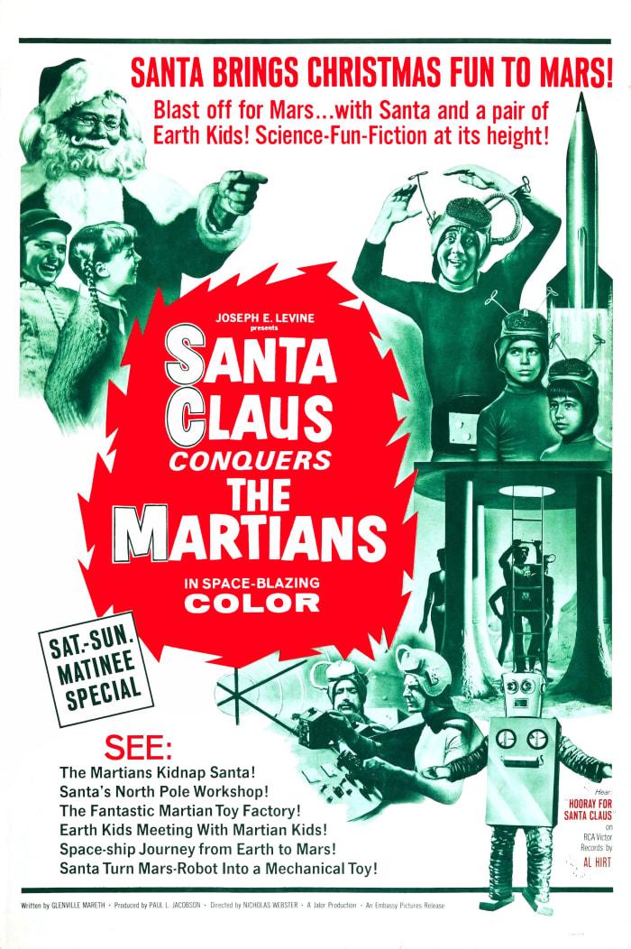 Santa Claus Conquers The Martians (1964); Starring: John Call, Leonard Hicks, & Vincent Beck