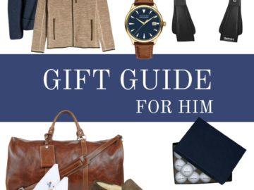 Christmas Gift Guide For Him - my picks for the guys!