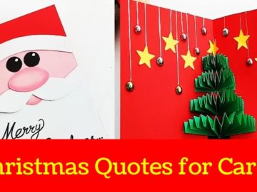 Christmas Quotes for Cards to Put on Cards
