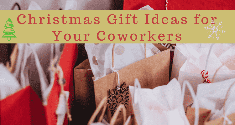 Christmas Gift Ideas For Your Coworkers