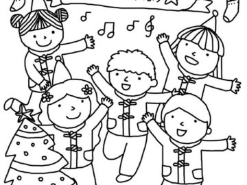 Merry Christmas Coloring Pages 2019