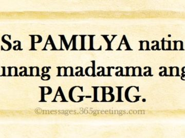 Tagalog Quotes about Family - 365greetings.com