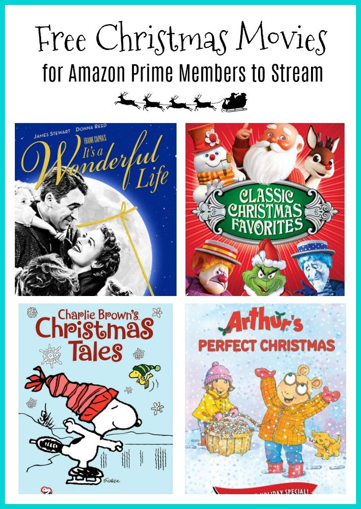 free christmas movies amazon prime