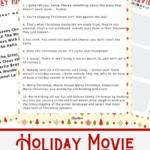 Christmas Movie Trivia Printables