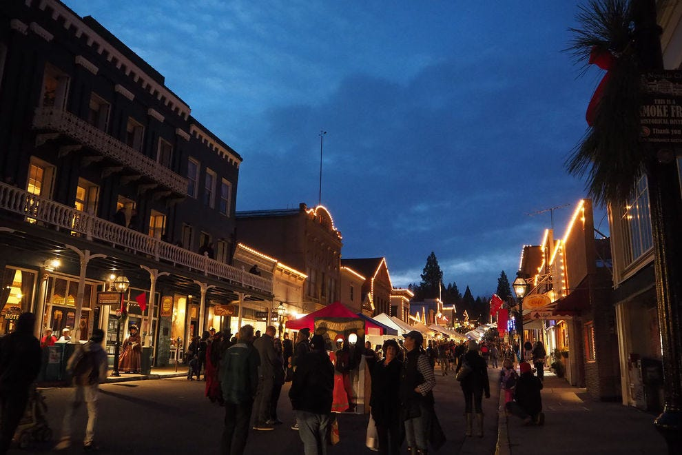 Celebrate a Victorian Christmas in Nevada City