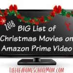 Christmas movies on Amazon Prime Video