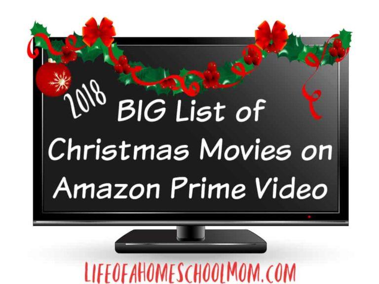 Christmas movies on Amazon Prime Video